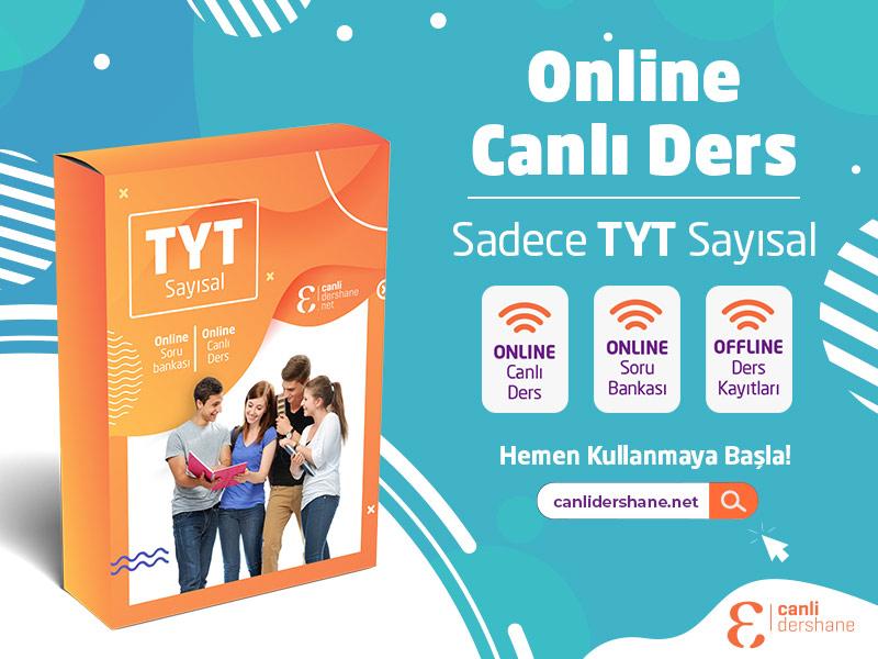 TYT Sayısal Online Canlı Dersler