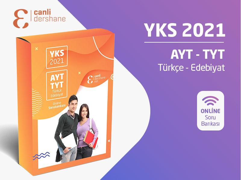 YKS 2021 - AYT-TYT Türkçe - Edebiyat Online Sorubankası