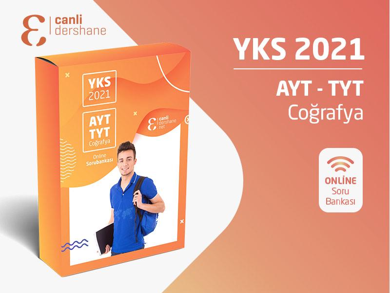 YKS 2021 - AYT-TYT Coğrafya Online Sorubankası