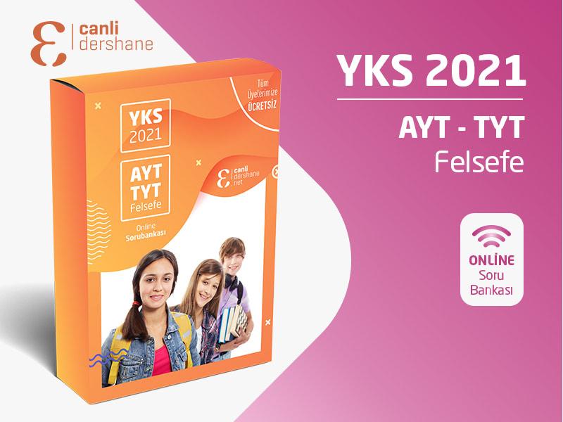 YKS 2021 - AYT-TYT Felsefe Online Sorubankası