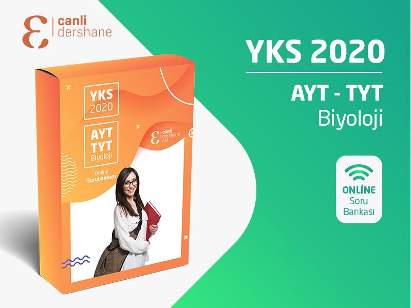 YKS 2020 - AYT-TYT Biyoloji Online Sorubankası