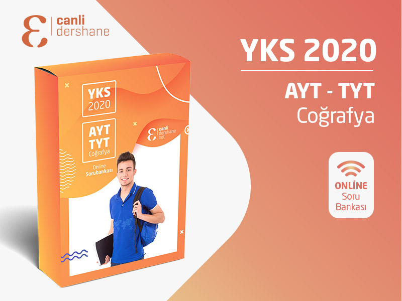 YKS 2020 - AYT-TYT Coğrafya Online Sorubankası