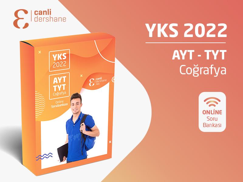 YKS 2022 - AYT-TYT Coğrafya Online Sorubankası