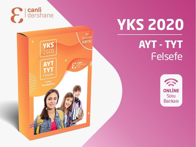 YKS 2020 - AYT-TYT Felsefe Online Sorubankası