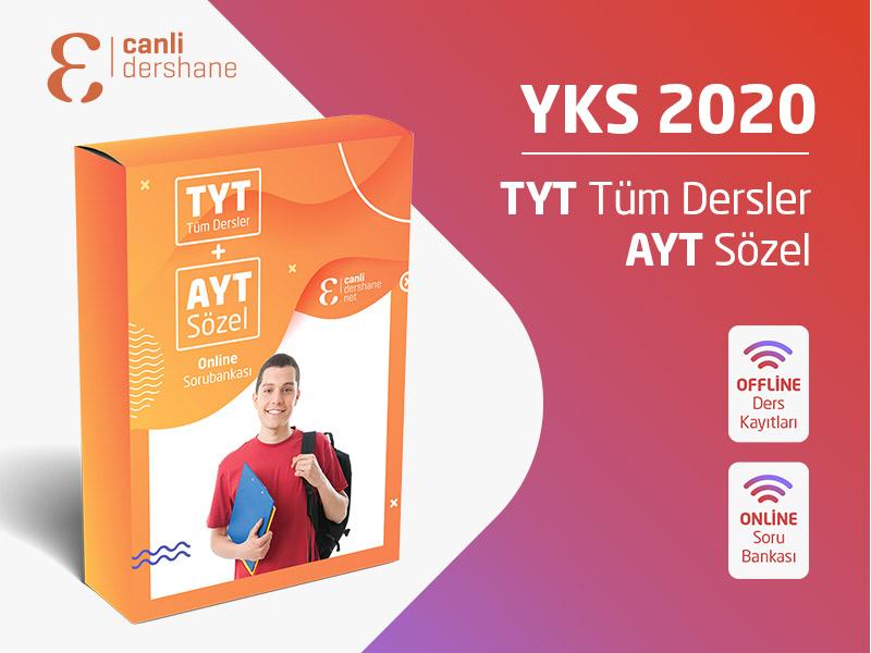 YKS 2020 - TYT AYT Tüm Dersler + AYT Sözel Offline Kayıtları