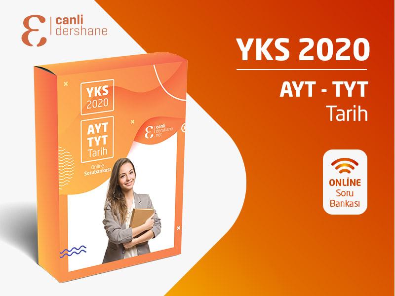 YKS 2020 - AYT-TYT Tarih Online Sorubankası