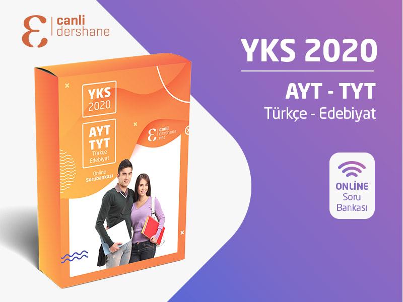 YKS 2020 - AYT-TYT Türkçe - Edebiyat Online Sorubankası
