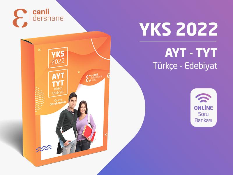 YKS 2022 - AYT-TYT Türkçe - Edebiyat Online Sorubankası - Aylık