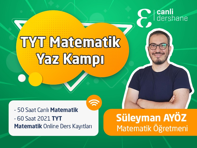 TYT Matematik Yaz Kampı