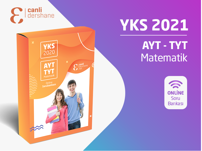 YKS 2021 - AYT-TYT Matematik Online Sorubankası