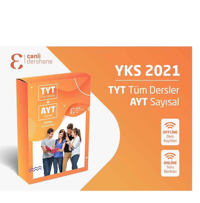 YKS 2021 - TYT AYT Tüm Dersler + AYT Sayısal Offline Kayıtları