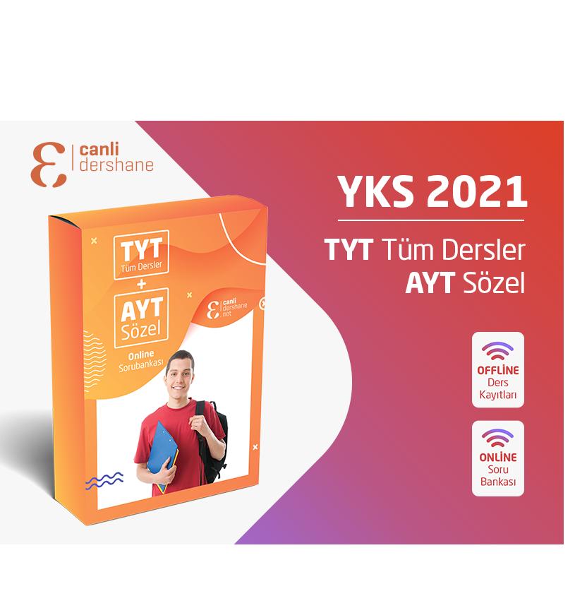 YKS 2021 - TYT AYT Tüm Dersler + AYT Sözel Offline Kayıtları