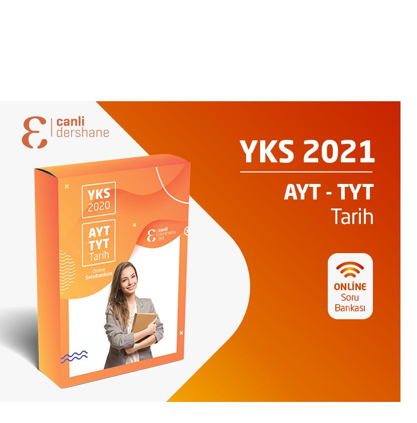YKS 2021 - AYT-TYT Tarih Online Sorubankası