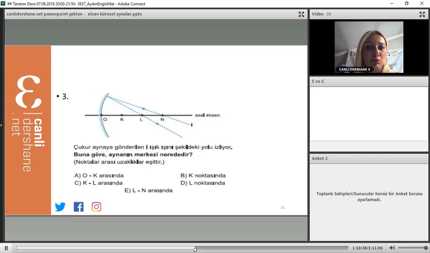 Elvan EKİNCİ Fizik Aynalar Konu Anlatımı